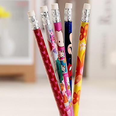 Indbundet tegneserie studerende ti penne