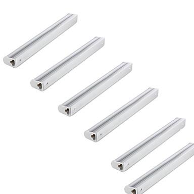 KWB 6pcs 380lm T5 Tubelys Tube 24 LED perler SMD 2835 Vanntett Varm hvit Kjølig hvit 110-130V 220-240V