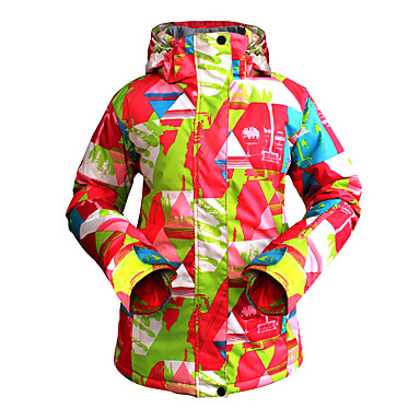 skipak vrouwelijke buiten waterdicht warm en ademend bergbeklimmen jasje