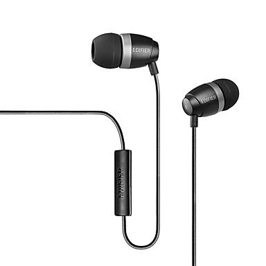 H210P En el oido Con Cable Auriculares El plastico Teléfono Móvil Auricular Con Micrófono / DE ALTA FIDELIDAD Auriculares