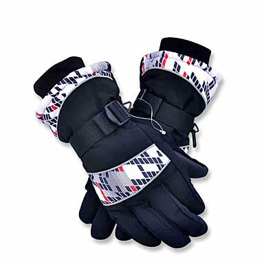 Ski Handsker Fuld Finger / Vinterhandsker Alle Aktivitets- / Sportshandsker Hold Varm / Vandtæt Handsker Ski / SnowboardingSyntetisk