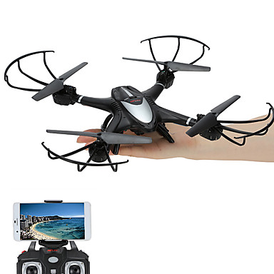 RC Drone MJX x401h 4-kanaals 6 AS 2.4G Met camera RC quadcopter FPV LED-verlichting Terugkeer Via 1 Toets Auto-Takeoff Headless-modus 360