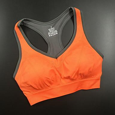 Homens Mulheres Sutiã Esportivo Confortável Filtro Solar Blusas para Exercício e Atividade Física Corrida Algodão Náilon Chinês Roxo