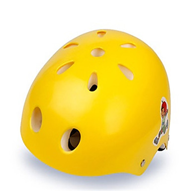 KUYOU Skatehelm Kinderen Helm CE Certificatie Sportief Jeugd voor Wielrennen In-lineskates Skateboard Geel Rood Groen Blauw Roze