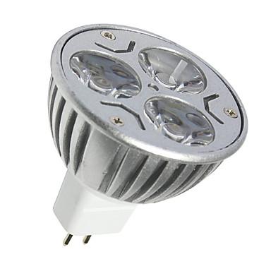 GU5.3(MR16) Lâmpadas de Foco de LED MR16 3 SMD 250LM lm Branco Quente Branco Frio 2700K/6500K K Decorativa DC 12 V