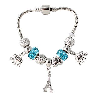 Dames Strand Armbanden Modieus Sierstenen Folk Style Met de Hand Gemaakt Europees Legering Cirkelvorm Sieraden Voor Dagelijks Causaal