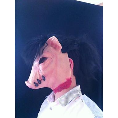 voordelige Maskers voor de feestdagen-Halloweenmaskers polykarbonaatti Feest Varken Filmpersonage Horrorthema