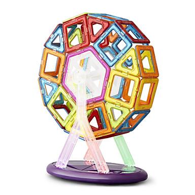 64 pcs Magnetické hračky Magnetický blok Magnetické dlaždice Stavební bloky Kovový Žehlička ABS Magnetické Půvab Udělej si sám Dětské / Dospělé Chlapecké Dívčí Hračky Dárek