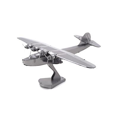 voordelige 3D-puzzels-Aipin Metalen puzzels Modelbouwsets Vliegtuig Sydney Opera House Noviteit Metallic Jongens Meisjes Speeltjes Geschenk