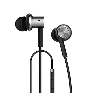 Xiaomi Mi IV Hybrid In-Ear Earphone Mi Piston dengan MIC Xiaomi Earphone UNTUK XIAOMI REDMI3 / REDMI 4S / XIAOMI5 # 05183026