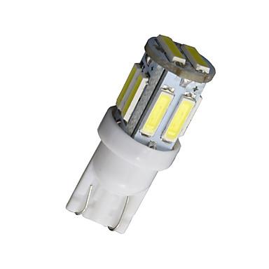 20db t10 W5W 192 168 194 7014 10smd 7020 10 LED oldalsó lámpák LED-es ék fény 12v