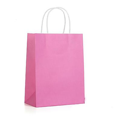 zak gift bag wit kraftpapier zakken tas van kraftpapier 28 * 21 * 11 spot een pak van vijf
