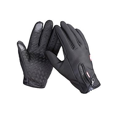 Homens Mulheres Unisexo Luvas de Ciclismo Luvas de Esqui Luvas Táteis Dedo Total Manter Quente Prova-de-Água Luvas Esportivas Luvas de