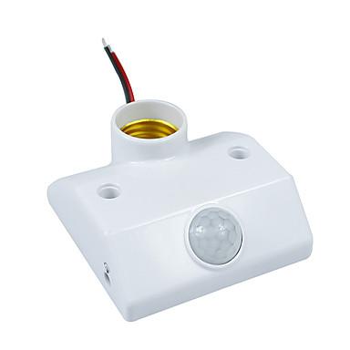 Infrarot-IR-Sensor-Schalter pir Sensor Bewegung Auto-Beleuchtung Halter für e27 Energiesparlampen und LED-Leuchten (AC200-240V)