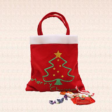 1pc snoepzak vrolijke kerstmis boom decoratie voor leveringen home party nieuwe jaar