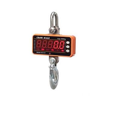 digitaal elektronisch haak schaal (weegbereik: 100kg-1000kg, oranje)