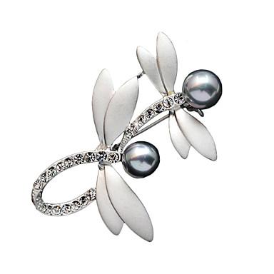 Dame Brocher Mode Krystal Smykker Til Fest Daglig Afslappet