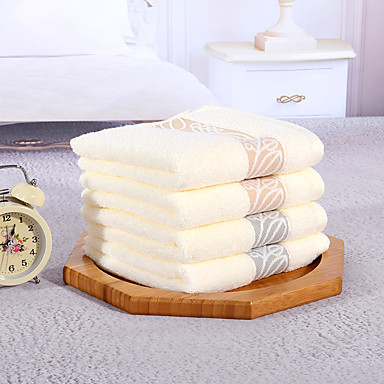 yukang®4pc fuld bomuld håndklæde super blød absorberende åndbart behagelig føler tyk