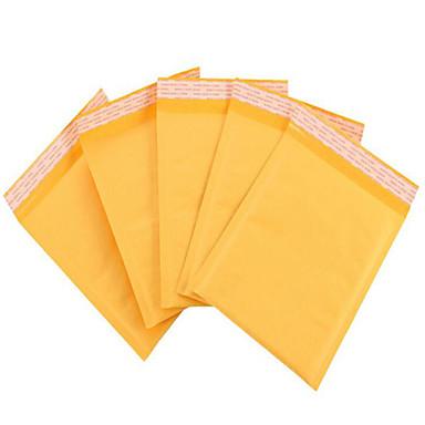 gele bubble enveloppe kraft bubble envelop tas koerier envelop zakken factory outlet ter plaatse een pakje van tien