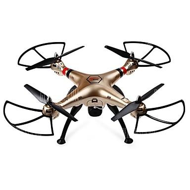 Drone SYMA X8HC 4-kanaals 6 AS 2.4G Met 2.0MP HD-camera RC quadcopter Headless-modus / 360 Graden Fip Tijdens Vlucht / Zweven / Met camera