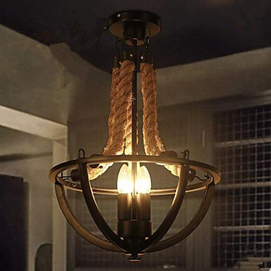 Plafond Lichten & hangers ,  Landelijk Schilderen Kenmerk for LED Metaal Woonkamer Slaapkamer Eetkamer Badkamer Studeerkamer/Kantoor Gang