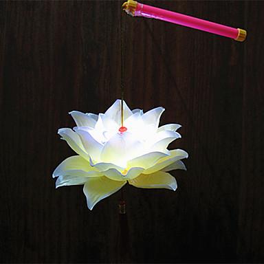1pc førte batteri lampe etape jul blomst bærbare nat-lys