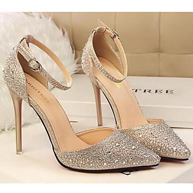 Printemps Paillette Chaussures amp; Eté Paillette pour 05177613 Chaussures Soirée Talons à Aiguille Automne Talon Décontracté Brillante Femme qXvBEx1C