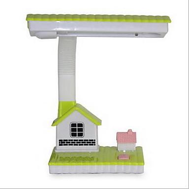 Traditionel / Klassisk Øyebeskyttelse LED Skrivebordslampe Til Plast Grønn Rosa