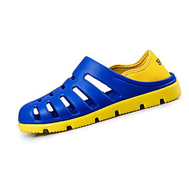 Sandaler-Gummi-Komfort-Herrer--Fritid-Flad hæl