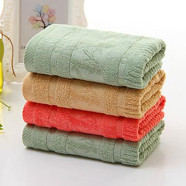 Hånd håndklæ,Garn Bleket Høy kvalitet 100% Bambus Fiber Håndkle