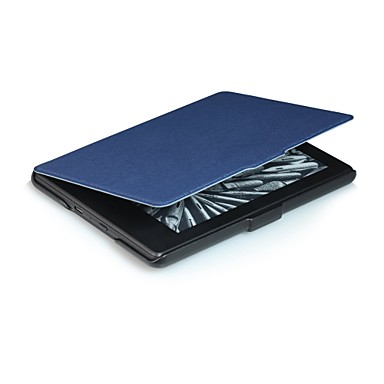PU Leather Côr Sólida Tablet Cases 6