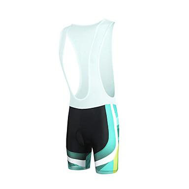 ILPALADINO Fahrradträgerhosen Herrn Fahhrad Bib - Shorts/Kurze radhose MIT Trägern Unten Fahrradbekleidung Rasche Trocknung