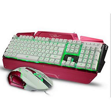 Med kabel USB Tastatur og musForWindows 2000/XP/Vista/7/Mac OS