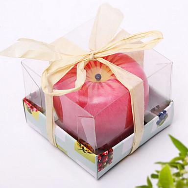 tecnologia de maçã vela perfumada aniversário celebração de presentes