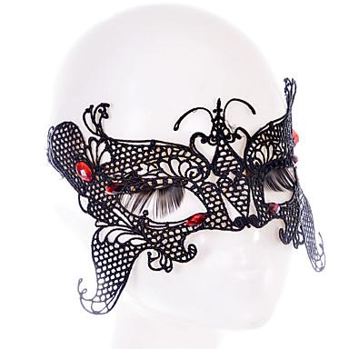 Lace Mask 1pç Máscaras feriado decorações do partido Legal / Fashion Tamanho Único Preto Renda