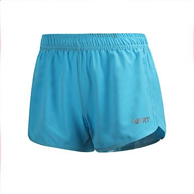Dame Shorts til jogging Fort Tørring, Pustende, Bekvem Hengende Shorts / Bunner Yoga & Danse Sko / Trening & Fitness / Løp Polyester