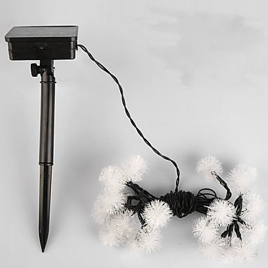 NO 5 M 20 Dip LED Warm Wit / Wit / RGB Waterdicht W Verlichtingsslingers <5V V