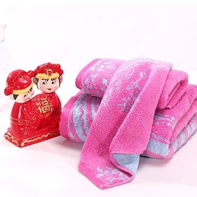 Handdoek,Garen Geverfd Hoge kwaliteit 100% Katoen Handdoek