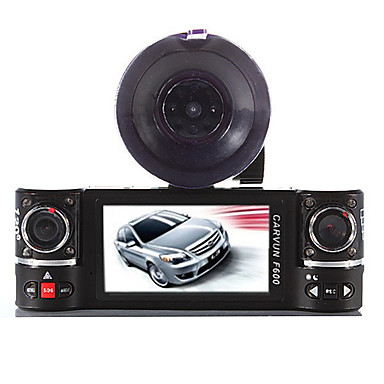 HD 1280 x 720 / 1280 x 480 / Full HD 1920 x 1080 G-Sensor / 720P / Video Utgang Bil DVR 140 grader Bred vinkel 5 MP CMOS 2.8 tommers Dash Cam med 4 infrarøde LED Bilopptaker
