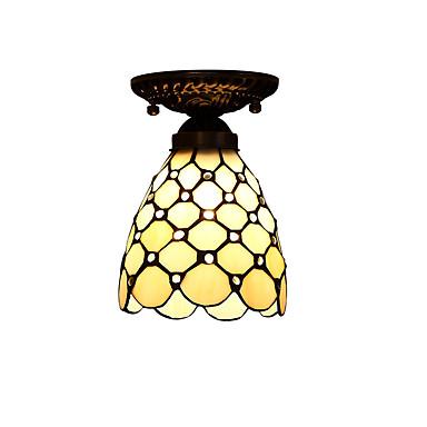 Tiffany LED designere Takmonteret Ned Lys Til Stue Soveværelse Køkken Børneværelse Indgang Entré Garage Gul 110-120V 220-240V Pære ikke