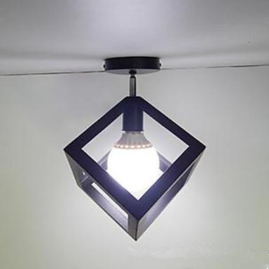 Retro Rød Takplafond Omgivelseslys - LED, 110-120V 220-240V, Gul, Pære ikke Inkludert
