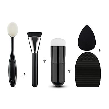3 Brush Sets Synthetisch haar Professioneel / Milieuvriendelijk / Draagbaar Hout / Plastic Gezicht Overige
