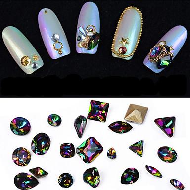 10 pcs Joyas de Uñas arte de uñas Manicura pedicura Diario Glitters / Moda / Joyería de uñas