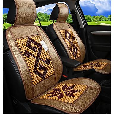 voordelige Auto-interieur accessoires-zomer houten kralen kussen monocar monolithische koude pad autozitje mahjong mat bamboe van truck kussen