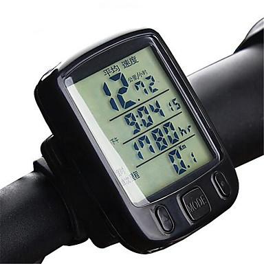 Freizeit-Radfahren Sonstiges Radsport/Fahhrad Geländerad Faltrad FahrradcomputerThermometer Av - Durchschnittliche Geschwindigkeit Dst -
