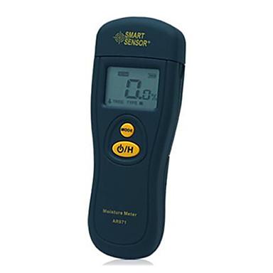 exatidão higrômetro madeira / cartão de umidade de 0,5% da faixa de medição 1,2-70