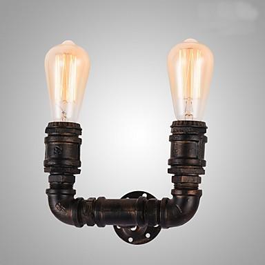 CXYlight Rustikk / Hytte Vegglamper Metall Vegglampe 110-120V / 220-240V MAX 40W