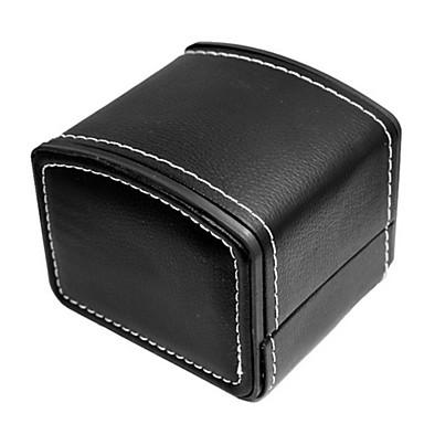 Frauen / Männer 's-PU-Leder-Uhr Schmuck Verpackungskarton Zubehör10 * 8 cm)