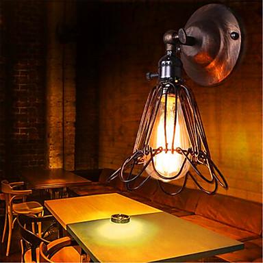 desenhador industrial lâmpadas mobiliário doméstico bar corredor corredor retro do pássaro do estilo da parede de caixa (incluindo 1 40w