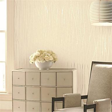 Art Deco 3D Behang voor thuis Luxueus Behangen , Niet-geweven stof Materiaal lijm nodig behang , Kamer wandbekleding